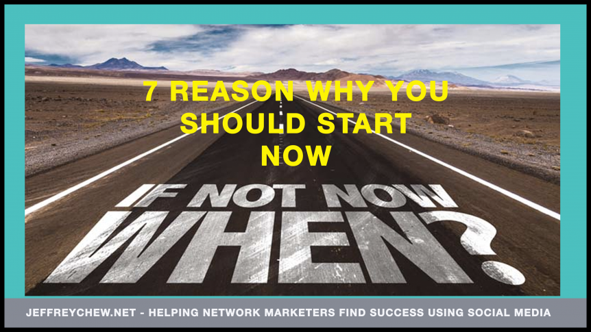 7 reasons you should start